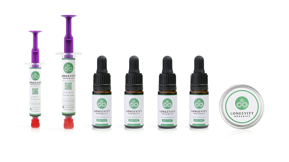 Ecommerce CBD oil Packshot Photography in Manchester - One North Studio