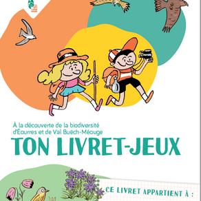 Un livret-jeux pour les enfants pour explorer la biodiversité d'Eourres et de VAL BUËCH MEOUGE