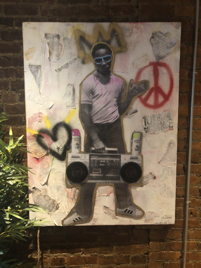 """hold this funk"" (mix-media bluetooth speaker"