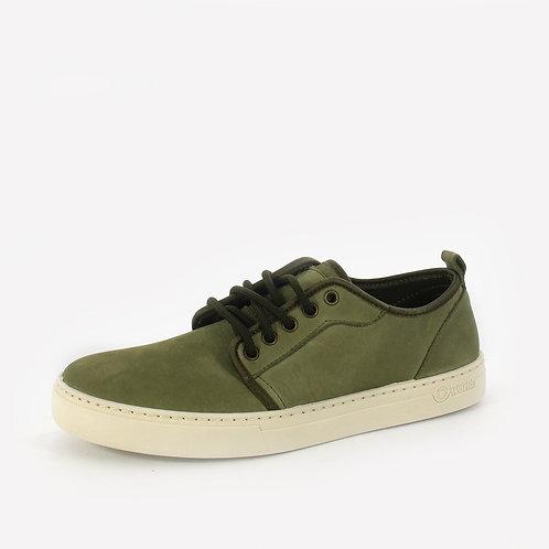 Natural World - Sneakers in pelle - Blu, Verde