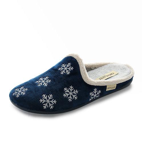 Grünland - Pantofole da donna con pelliccia interna