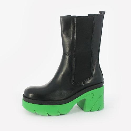Divine Follie - Stivali con maxi suola - Giallo, Verde