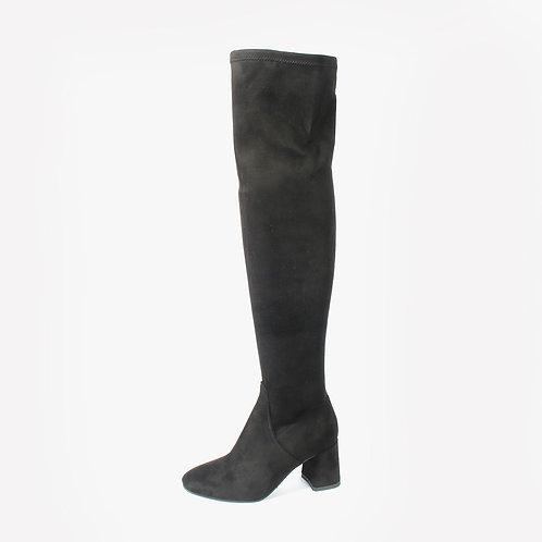 DADA - Stivali alti al ginocchio - Marrone, Nero