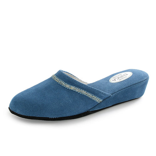 ERICA - Pantofole da camera - Azzurro, Bordeaux, Blu