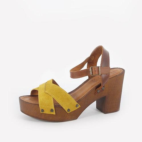 DADA - Sandali con fascia intrecciata - vari colori