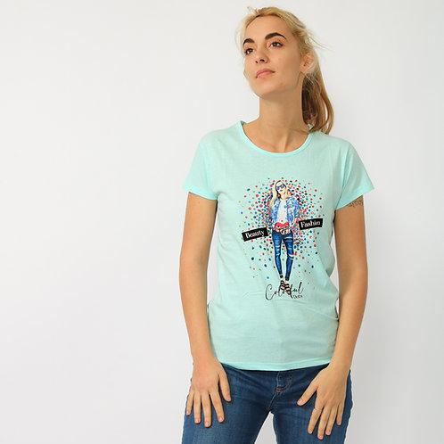 DADA - T-shirt in cotone con stampa - vari colori