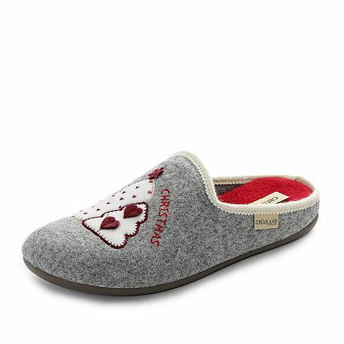 Grünland - Pantofole da donna con stampa natalizia