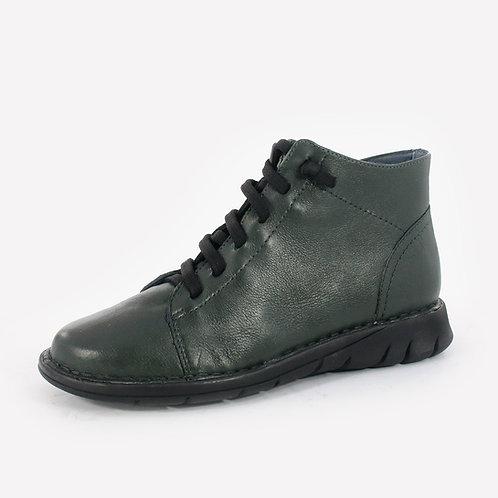 Grünland - Sneakers in pelle - Nero, Verde