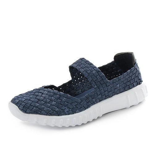 LAGEAR - Sneakers slip on - Blu, Argento