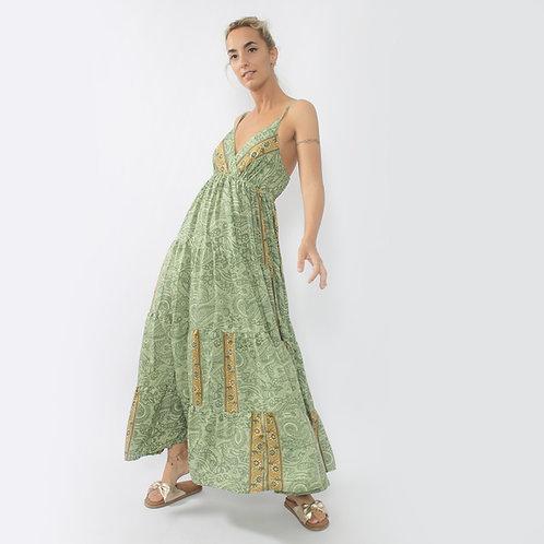 DADA - Vestito in seta con spalline - vari colori