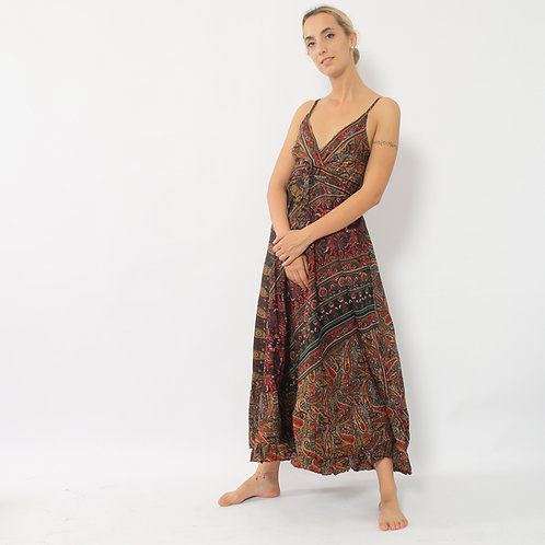 DADA - Maxi vestito in seta - vari colori