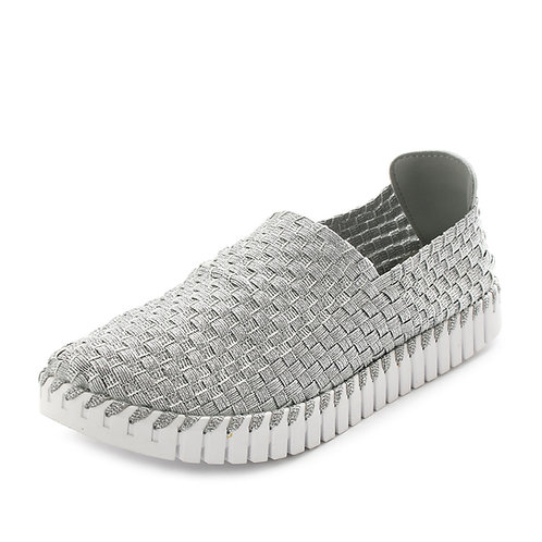 LAGEAR - Sneakers slip on - Nero, Argento, Bianco