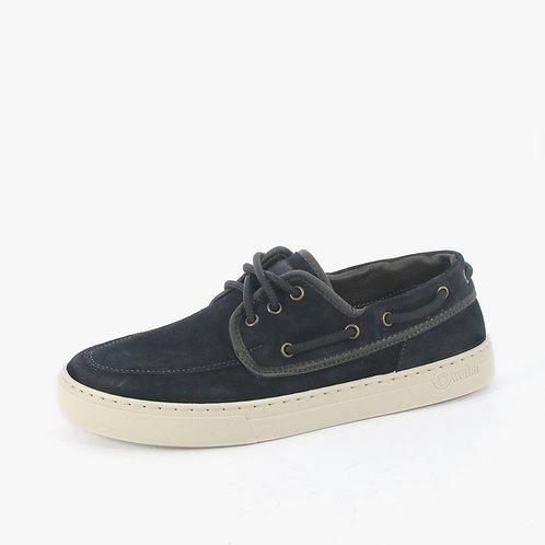 Natural World - Sneakers in pelle - Marrone, Blu