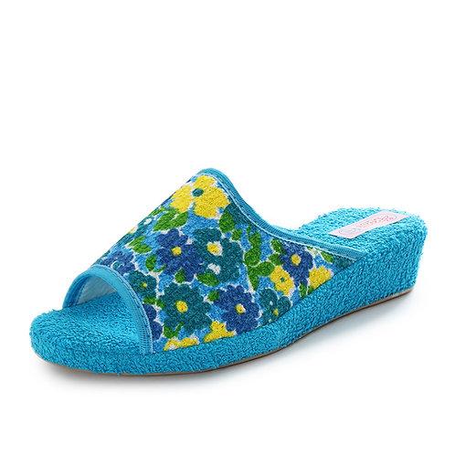 3ROSE - Ciabatte in spugna - Blu, Azzurro