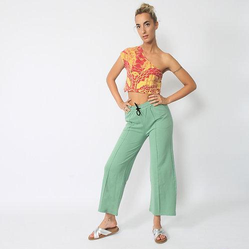 DADA - Pantaloni elasticizzati a zampa - vari colori