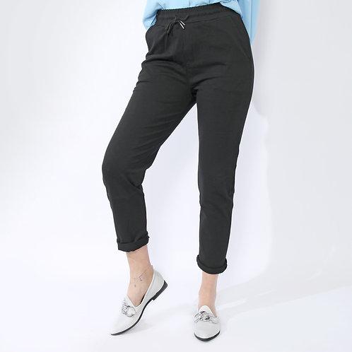 DADA - Pantaloni elasticizzati - Nero, Beige, Grigio