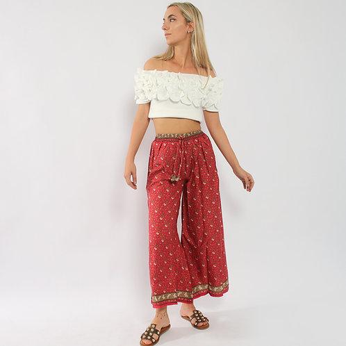 DADA - Pantaloni in seta  - vari colori