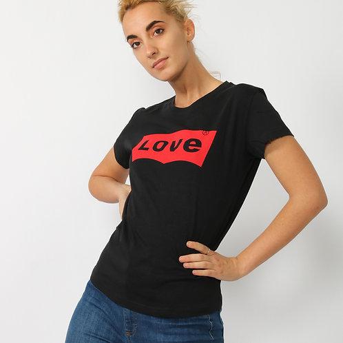 DADA - T-shirt in cotone con stampa - Bianco, Nero