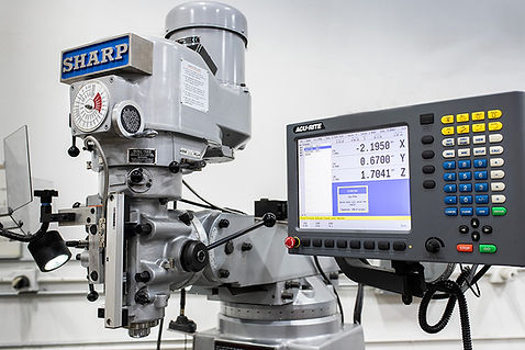 2-Axis CNC Milling: 2018 Sharp Knee Mill
