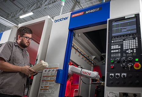 Automated 5-Axis CNC Milling: 2019 Brother Speedio M140X2