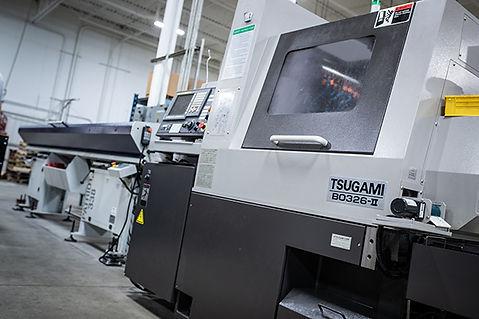 Automated 6-Axis CNC Swiss Turning: 2018 Tsugami B0326-II