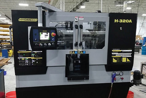 CNC Sawing: 2019 Hydmech H-320A
