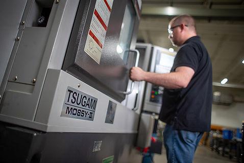 4-Axis Chucked/Bar Fed CNC Turning: 2018 Tsugami M08SY
