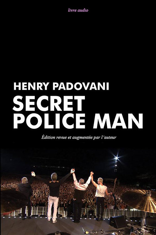 SECRET POLICE MAN - LIVRE AUDIO / français