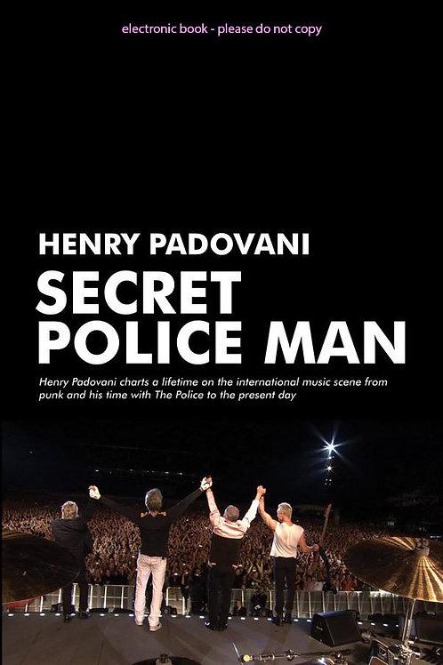 SECRET POLICE MAN - E BOOK / ENGLISH