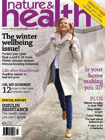 Nature and Health Mag Jun-Jul18 Cover