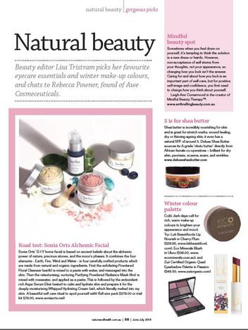 Nature and Health Magazine Jun-Jul 2018