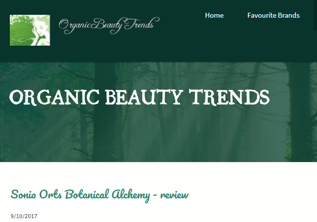 The Caryl Edit Instagram - Sonia Orts Organic Beauty Trends