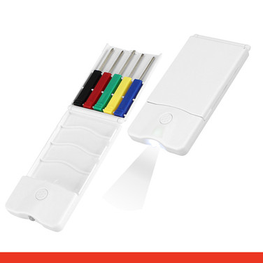 Set Mini-Destornilladores y LED