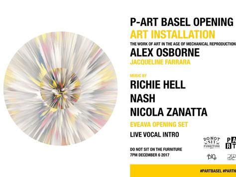 P-ART Basel Opening