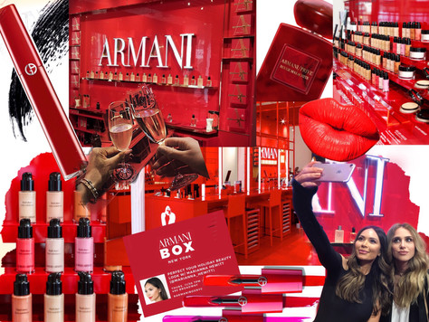 We were Invited: Armani Beauty x Marianna Hewitt