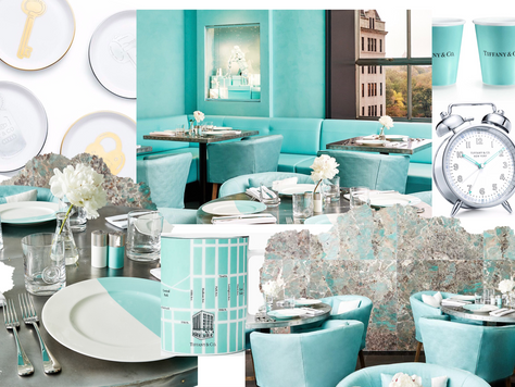 Tiffany&Co. Gets Chic New Café