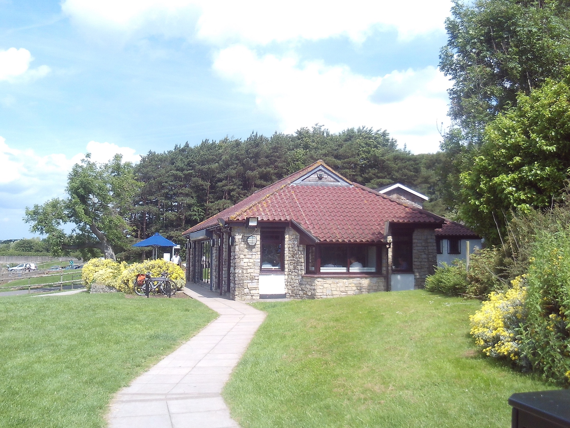 Tearoom at Chew Valley Lake