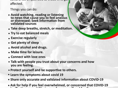 COVID-19 and Mental Health to All