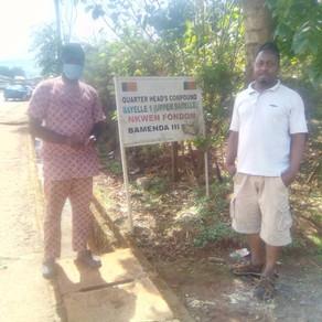 Distribution to Upper Bayelle, Bamenda 3 Nkwen.