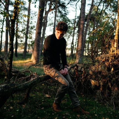 Fotoshoot met Chris König