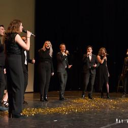 Foto met Dutch Jazz Choir