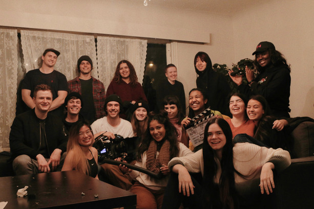 Cast and crew from The Innocent on which I was the sound mixer