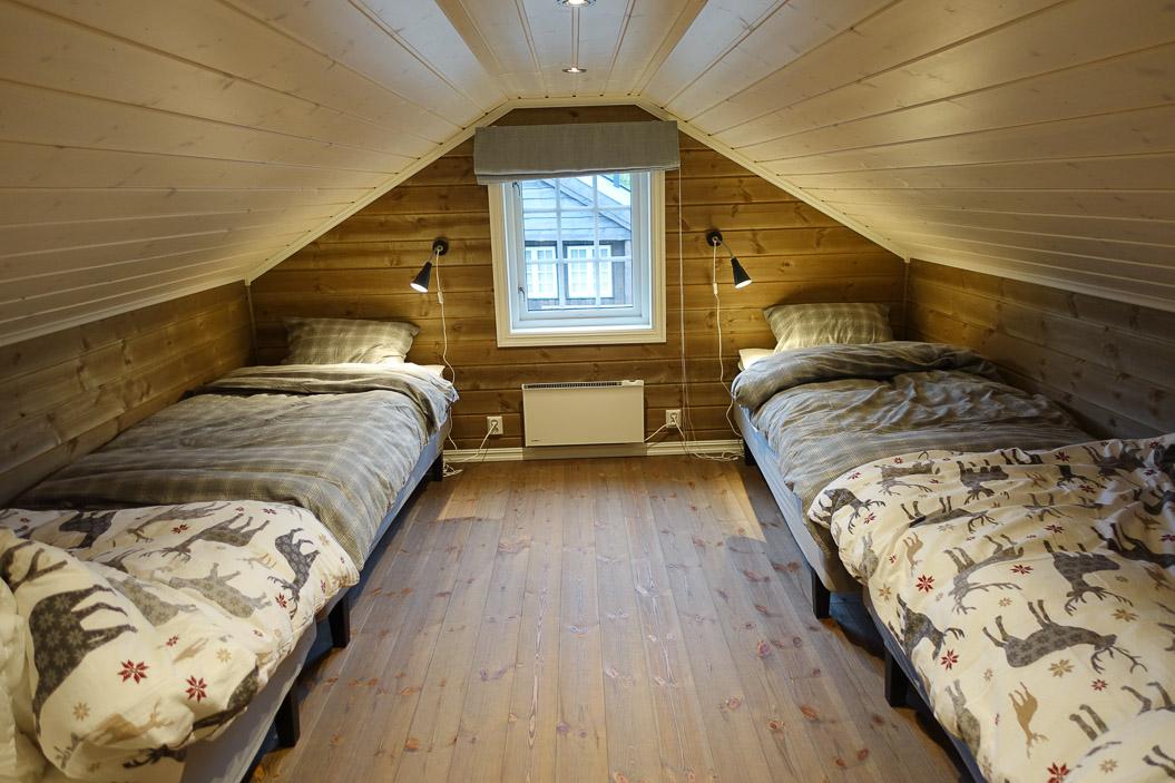 Sovesal med 4 enkeltsenger
