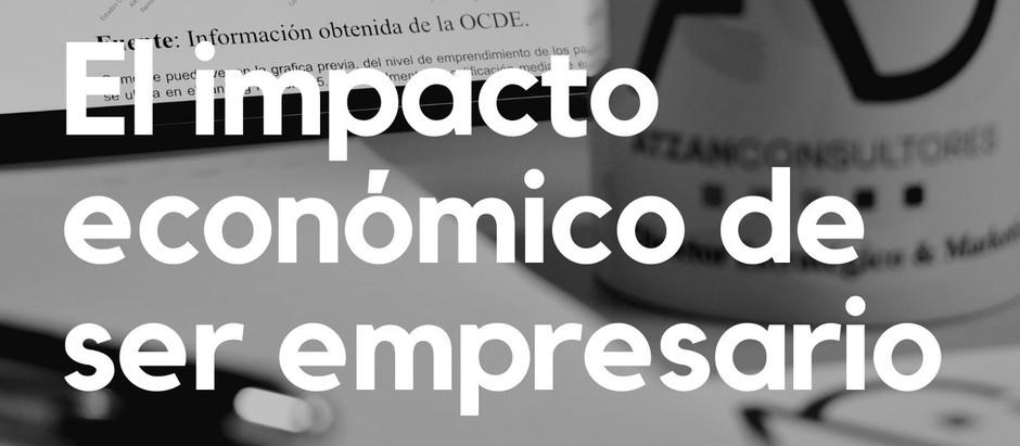 El impacto económico de ser empresario