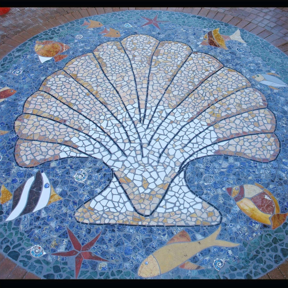 Shell with Fish