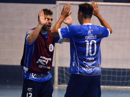 Taubaté bate Yoka e garante vaga nas semifinais da Copa Paulista de Futsal