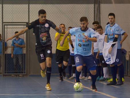 Taubaté e Indaiatuba empatam na Copa Paulista de Futsal