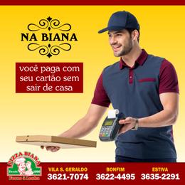 Cliente: Pizza Biana  (Taubaté, SP)