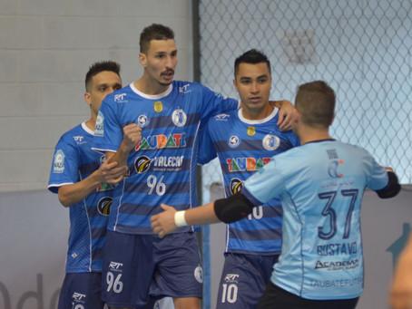 Taubaté vence Barueri e sai na frente na final da Copa Paulista