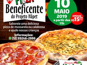 Vem aí a Pizza Beneficente 2019!